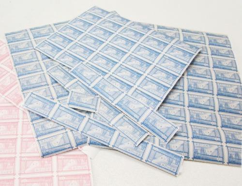 青色建退共証紙